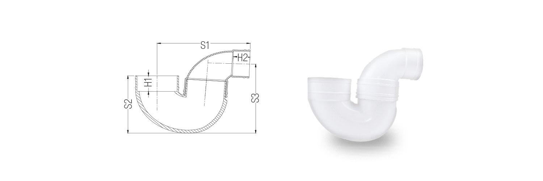 Adjustable P Trap 2